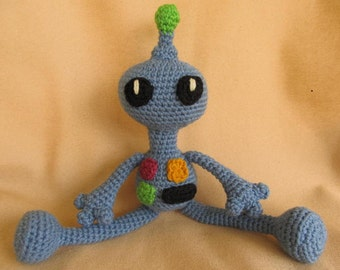 Remmy the Robot Crochet Amigurumi Pattern