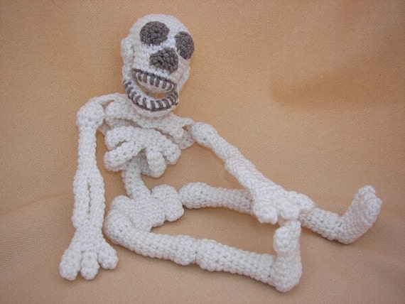 Make Your Bones Skeleton Crochet Amigurumi Pattern