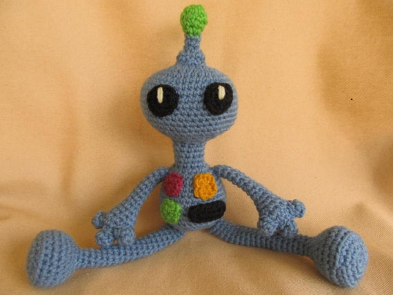 Amigurumi Robot Crochet Patterns : Remmy the Robot Crochet Amigurumi Pattern