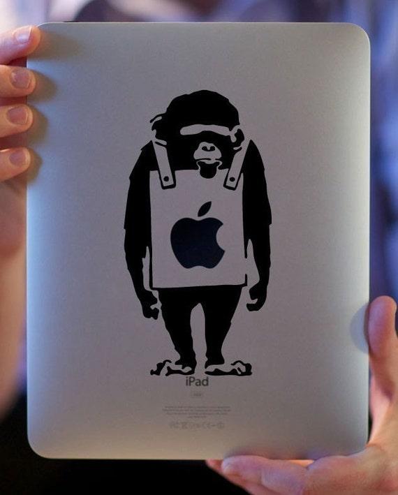 Monkey vinyl decal (FREE SHIPPING)