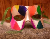 Colorful Leather Mask
