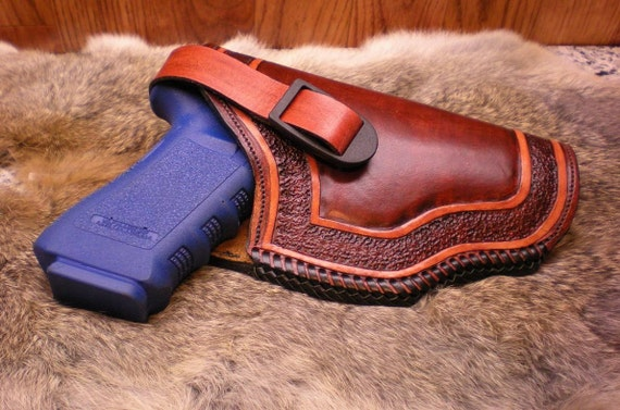 Leather Holster for Large Frame Automatic