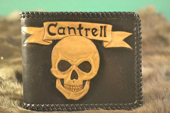 Custom Tooled Leather Wallet