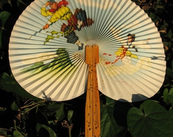Set of two Chinese Fans