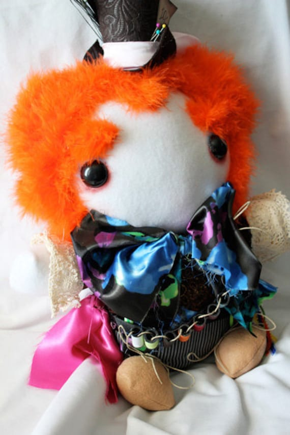Mad as a Hatter Large Plush