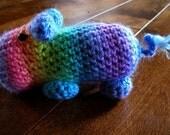 Holbrook the rainbow hippopotamus