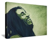"""Bob Marley """"When the Music Hits..."""" - 18x24 Limited Edition Canvas Print"""