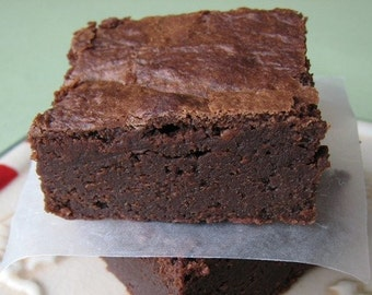4  Large 4x4 Fudge Brownies
