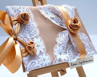 Wedding Guest Book - Romantic, Elegant, Gold Weddings