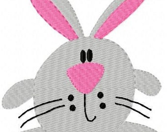 Spring Bunny Easter Machine Embroidery Design // Joyful Stitches
