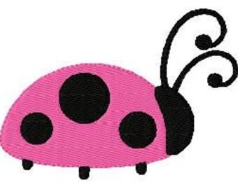 Ladybug Walking Machine Embroidery Design // Joyful Stitches