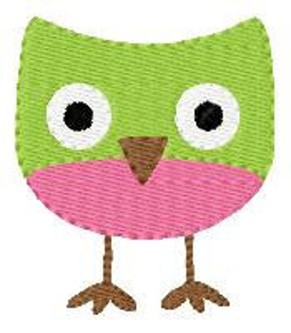 Owl Fun Single 312 Machine Embroidery Design // Joyful Stitches