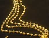 Vintage MultiStrand Pearl Necklace