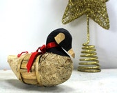 Corn Cob Holiday Goose Ornament