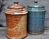 Canisters, available in 3 colors