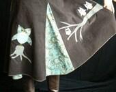 Owl and Owlet Wrap Skirt by OhRita