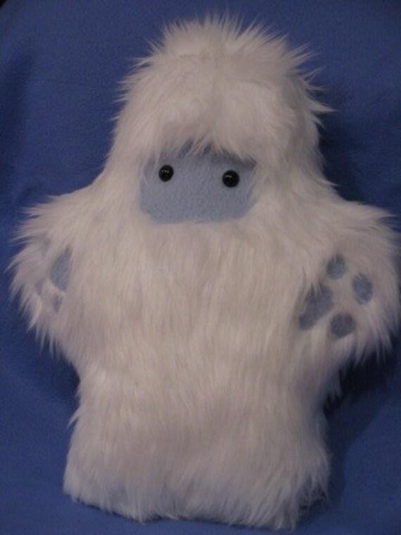 Baby Meh-teh the Yeti Stuffed Animal