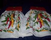 Chilli Pepper Oven Dish Towels