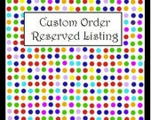 Rush Order listing for  Kendiea