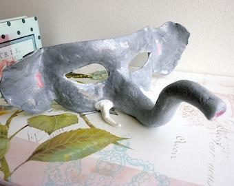 Ellie-Elephant Animal Masquerade Face Mask