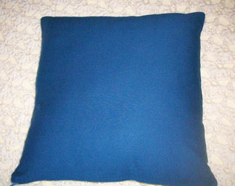 CLEARANCE - Pillow Cover 16 Inch  Cushion Cover Pillow Slip -  Royal Blue