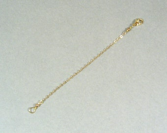 5 Inch Necklace Extender - Gold Plated