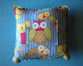 Whimsical Owls Tooth Fairy Pillow