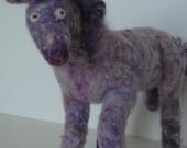 Plush Purple Pony