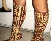 Tribal Nights Knee High Boots