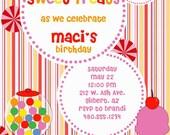 Sweet Treat Birthday Invitation