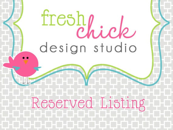 Reserved Listing - lisa (frog collection)