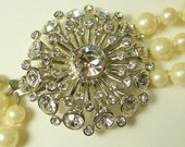 Elegant multistrand pearls.