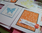 20 handmade cards