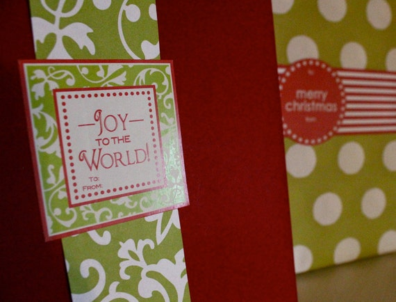 12 Joy to the World Labels