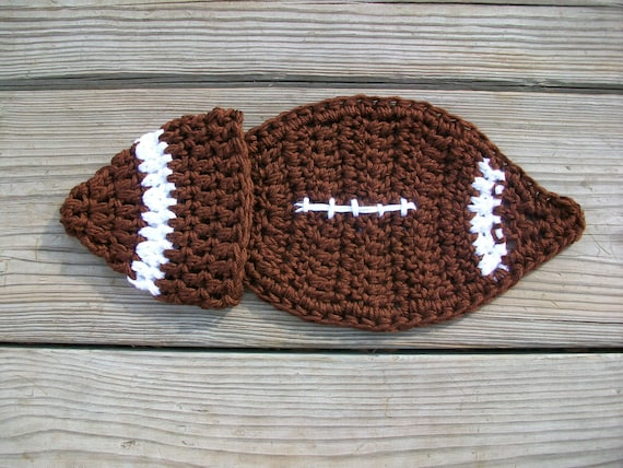 CLEARANCE Football Cape Set for Newborn photograpy prop RTS