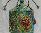 Embellished Fabric Box