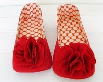35% Off Holiday Sale - no 138 Juliet Women's Room Shoes PDF Pattern