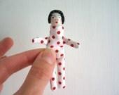 Art Doll / Handmade / Peggy / Little Poeple Doll