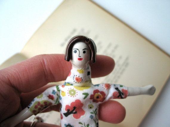 ON SALE/ Art Doll, Handmade, Cosette