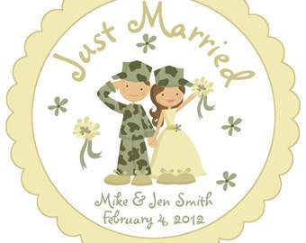 ... -- military wedding -- military couplearmy wedding -- army couple
