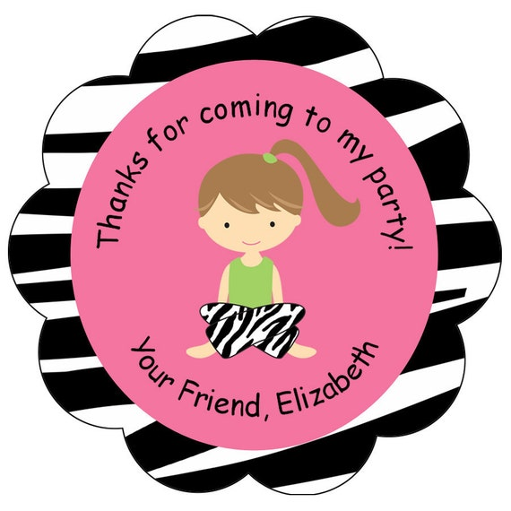 Slumber party Sticker slumber party pajama party sleepover  favor tag, address label,  personalized stickers
