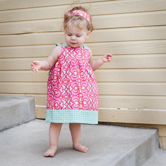 Candy Land Reverse Knot Dress - 9 mths to 5