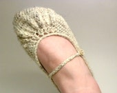 Mary Jane Every Day Summer Slipper in Oatmeal