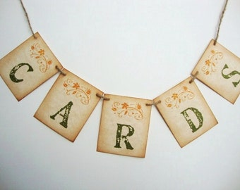 Wedding Cards Banner Autumn Rustic Country Woodland