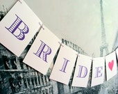 BRIDE to Be Banner - Bridal Shower,  Bachelorette Party Sign