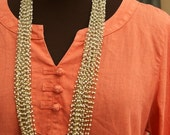 SALE WAS 30 Vintage Multi-Strand Beaded Necklace