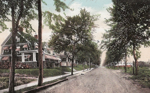 Haverstraw Ny Hudson Avenue Early 1900s By Vintagepackrat