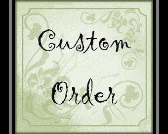 Custom listing for Clare McCaffrey