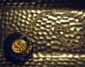 Angel Glass Pendant Necklace