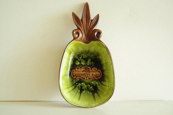 Vintage Marineland Pineapple Treasure Craft Souvenir